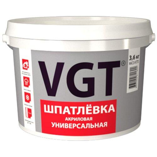 Шпатлевка универсальная акриловая 3,6 КГ (4)