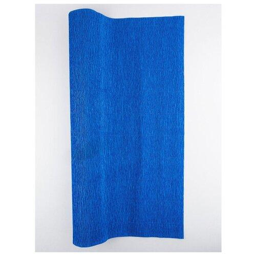 Купить Бумага гофрированная 50см х 2, 5м., 180г/м., Cartotecnica Rossi, 557 синий, Цветная бумага и картон