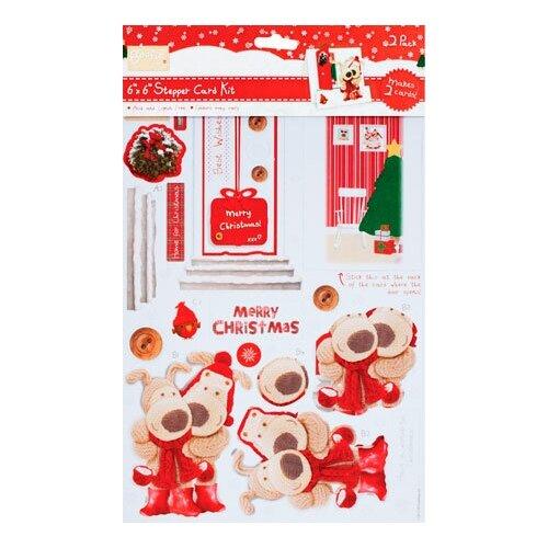 Набор для создания открытки Рождество дома 15,2 х 15,2 см