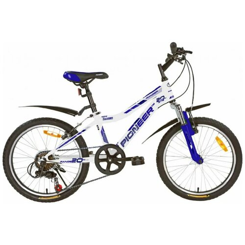 Велосипед PIONEER Ranger 20/11 2020-2021 white-blue-darkblue