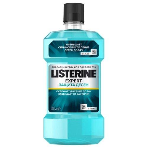 Фото - Ополаскиватель Listerine EXPERT Защита десен, 250 мл listerine ополаскиватель свежая мята 500 мл