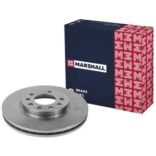 Тормозной диск передний Marshall M2000415 280x25 для Opel Astra, Opel Zafira, Opel Meriva