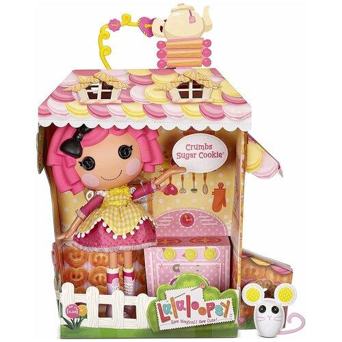 Кукла Lalaloopsy Crumbs Sugar Cookie с мышкой