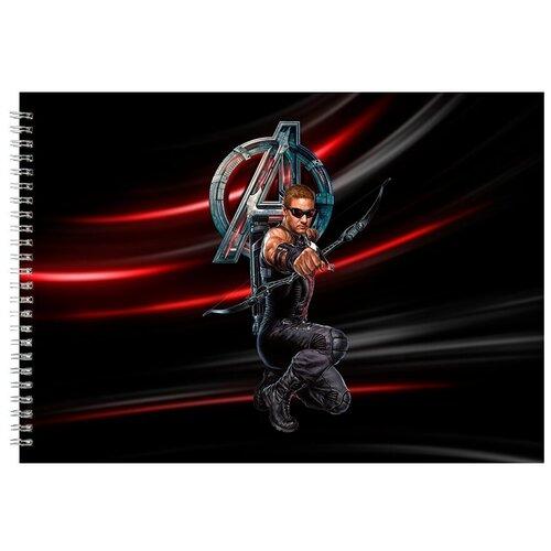 Альбом для рисования, скетчбук Стрелок из мстителей