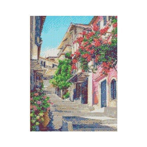 Улочки Италии Рисунок на ткани 25,2х35,4 Каролинка ткбп 3045 25,2х35,4 Каролинка ткбп 3045)