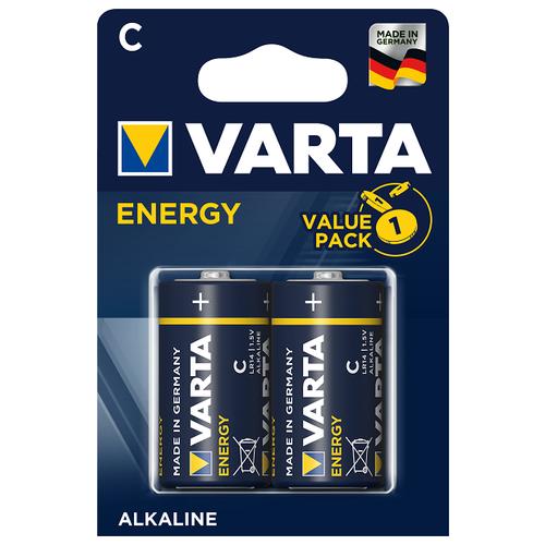 Фото - Батарейка VARTA ENERGY C/LR14 бл 2 батарейка varta energy d lr20 бл 2
