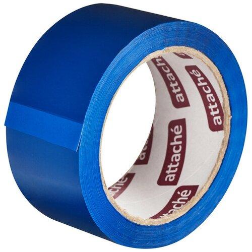 Фото - Клейкая лента упаковочная ATTACHE 48мм х 66м 45мкм синий 2 шт. клейкая лента коричневая unibob 48мм 66м 45мкм 6 шт в упаковке