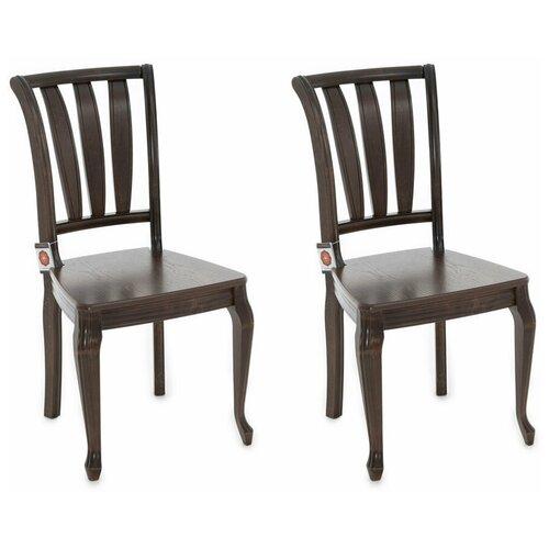 Комплект стульев Аврора Кабриоль Орех темный 2 шт