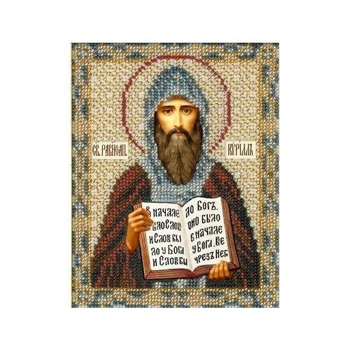 Набор Святой Кирилл 12,5х16,3 Русская искусница 221 12,5х16,3 Русская Искусница 221)