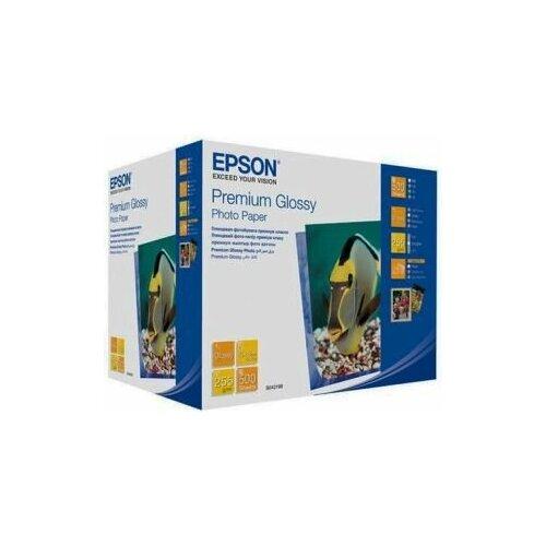 Фото - Фотобумага Epson Premium Glossy Photo Paper 13x18 S042199 фотобумага epson premium semigloss photo paper