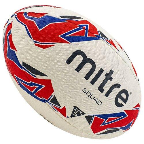Мяч для регби MITRE SQUAD, р.5, арт. BB1152WP4