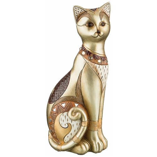 Фигурка кошка 12,5х9,5х28,5 см коллекция чарруа Lefard (79-132) фигурка декоративная lefard кошка 8 см