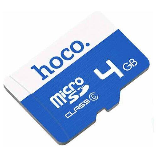 Фото - Карта памяти MicroSD 4Gb TF High speed Hoco карта памяти hoco micro sd 4gb синяя