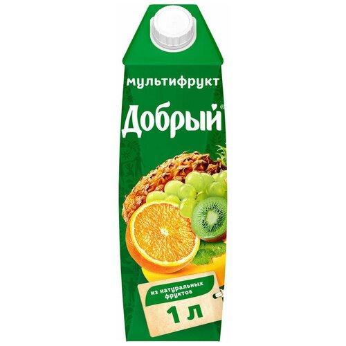 Добрый Нектар Добрый мультифрут 1л (12 штук)