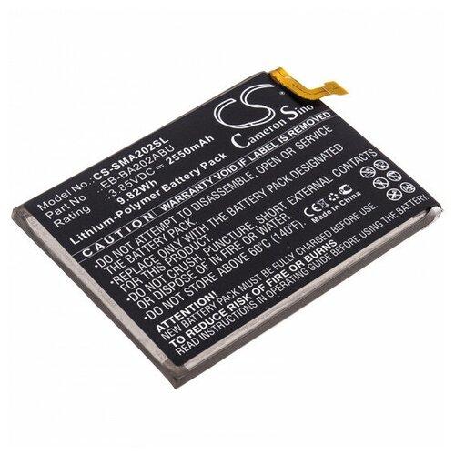 Cameron Sino Аккумулятор для телефона Samsung Galaxy A20e SM-A202F/DS cameron sino аккумулятор для телефона samsung i897 captivate