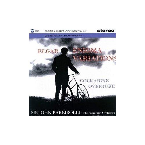 elgar elgar cello concerto sea pictures Виниловые пластинки, Warner Classics, JOHN BARBIROLLI - Elgar: Enigma Variations, 'Cockaigne' Overture (LP)