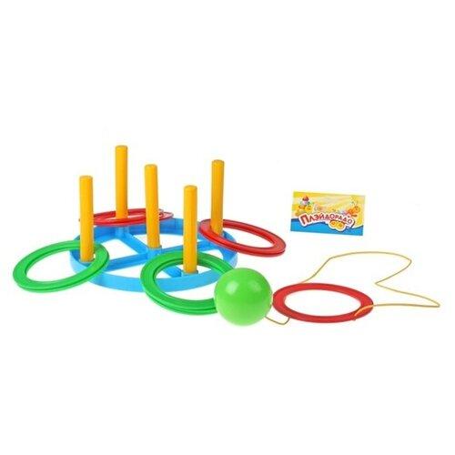 Купить Пластмастер Игра 2 в 1 «Кольцеброс» и «Поймай шарик», Спортивные игры и игрушки