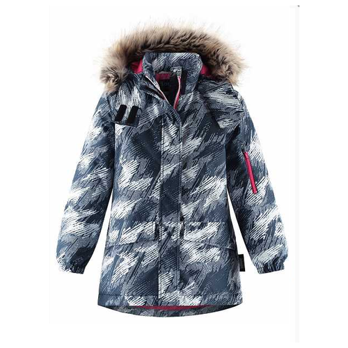Купить Куртка Lassie размер 140, 6961 синий, Куртки и пуховики