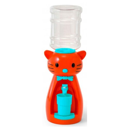 Кулер VATTEN kids Kitty Orange (со стаканчиком) кулер для воды vatten kids kitty red со стаканчиком