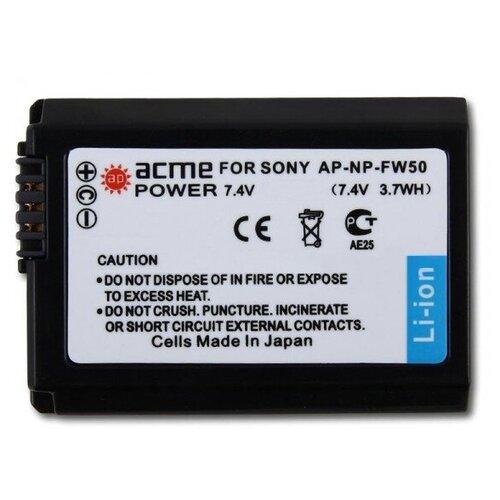 Фото - Аккумулятор AcmePower AP-NP-FW50 для Sony аккумулятор acmepower np fw50