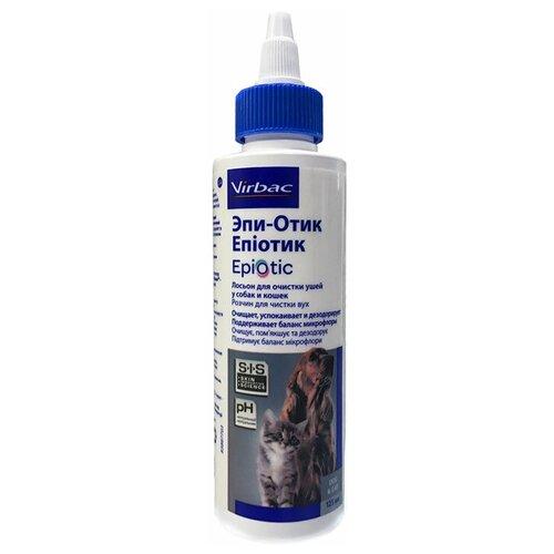Эпи-Отик (Epi-Otic) лосьон для очищения ушей, 125 мл