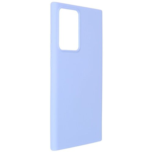Чехол Pero для Samsung Note 20 Ultra Liquid Silicone Light Blue PCLS-0041-LB