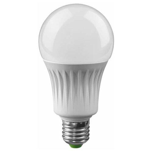 Лампа светодиодная 71 365 NLL-A60-15-230-4K-E27 15Вт грушевидная 4000К бел. E27 1200лм 176-264В Navigator 71365 (упаковка 10 шт)