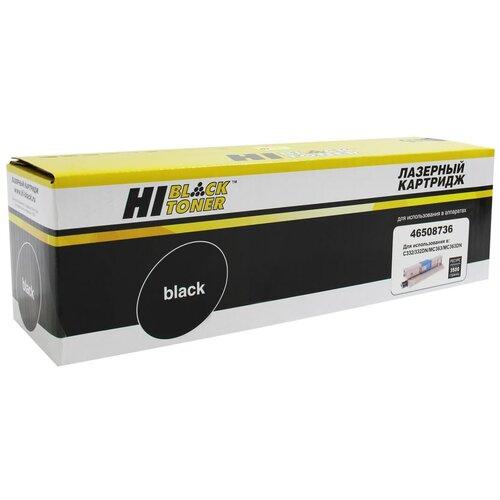 Тонер-картридж Hi-Black (HB-46508736) для OKI C332/MC363, Bk, 3,5K