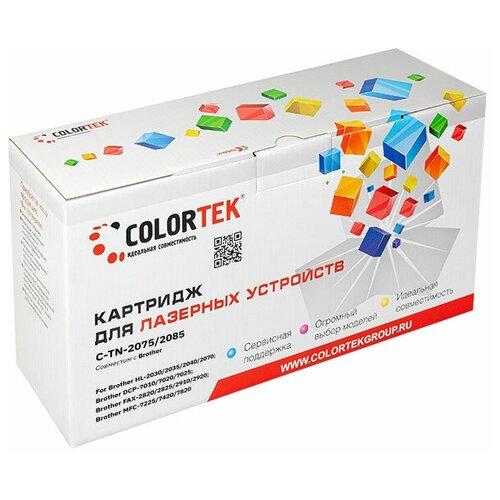 Фото - Картридж лазерный Colortek CT-TN-2075/2085 для принтеров HP и Canon картридж colortek ct tn 2080 для принтеров brother