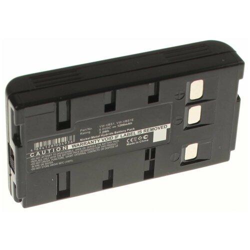 Аккумулятор iBatt iB-B1-F357 1200mAh для JVC, Panasonic, Samsung BN-V10U, BN-V11U, BN-V20U, BN-V22U, BN-V24U, BN-V25U, VW-VBS1E, BN-V20,