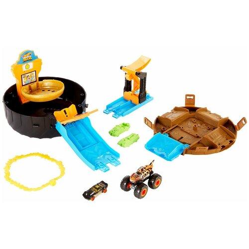 Набор игровой Hot Wheels Автотрек Трюковая арена GVK48 mattel автотрек hot wheels винтовое столкновение