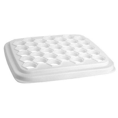 Пельменница белая М1205 (пластик)