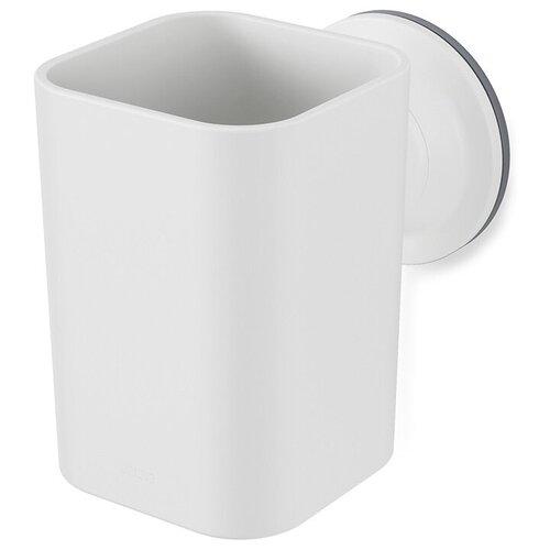 Фото - Стакан для зубных щеток Flex 10x7x11 см, материал пластик, цвет белый, Umbra, 1014160-660 стакан для зубных щеток touch 10х10х8 см серый 023271 918 umbra