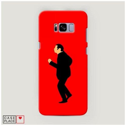Чехол Пластиковый Samsung Galaxy S8 Plus Криминальное чтиво 2