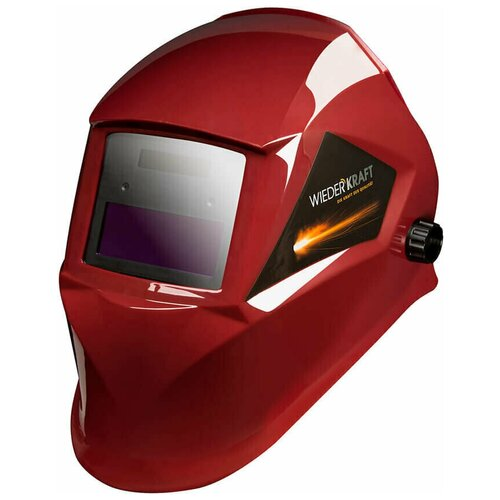 Маска WIEDERKRAFT сварочная хамелеон 90x35мм, солн.бат. ,Li-ion аккумулятор, DIN 11 WDK-Beta Ф1/OEM сварочная маска kemppi beta e90p 9873022