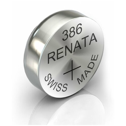 Фото - Батарейка RENATA R 386, SR43W 1 шт. батарейка renata r 384 sr41sw 1 шт