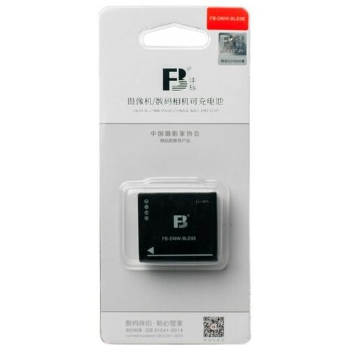 Аккумулятор FB DMW-BLE9E для Panasonic GF6 GX7 GF5 GF3 GX85 Leica d-lux typ109