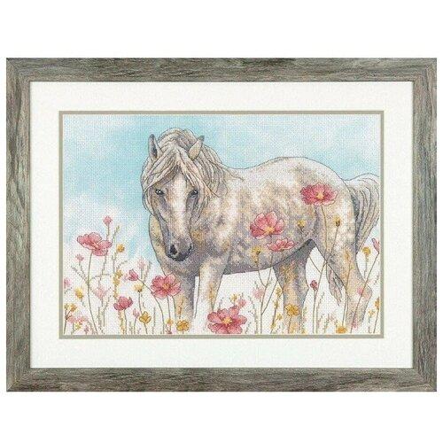 Набор для вышивания Dimensions Дикая лошадь 35396