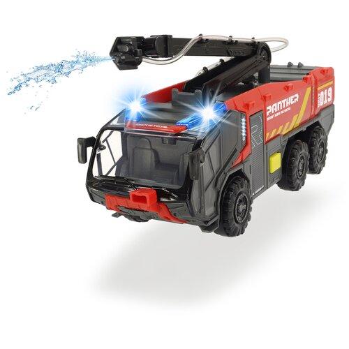 трансформер трейлер dickie optimusprime свет звук Противопожарная служба аэропорта, 24 см свет звук Dickie Toys 3714012