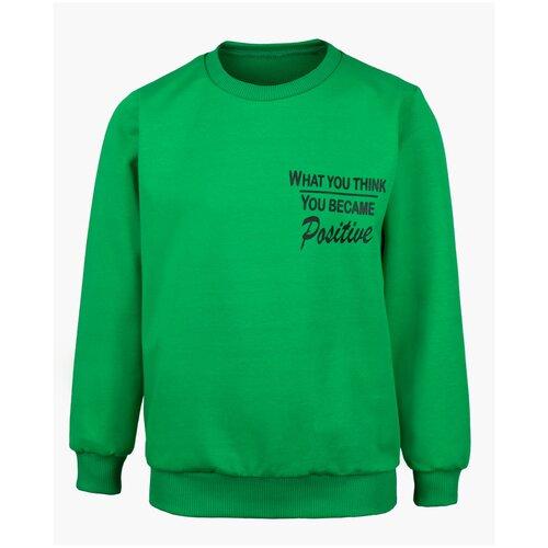 Купить Свитшот M&D размер 98, 13 зеленый, Толстовки