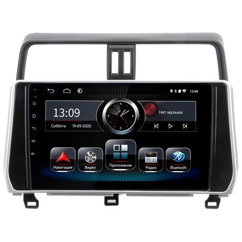 Автомагнитола для Toyota LC Prado 150 21+ без магнитолы (Android 8.1) BT / QLED / 2.5D экран / Wi-Fi / 2-32Gb / 10