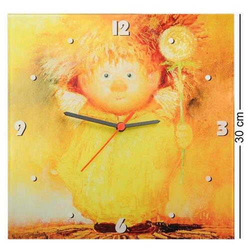 Часы Ангел крепкого здоровья 30х30 ANG-119 113-501615