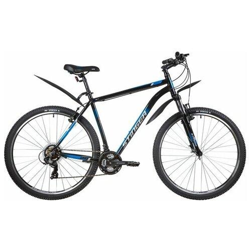 Горный (MTB) велосипед Stinger Element STD 29 (2020) 22 черный (требует финальной сборки)