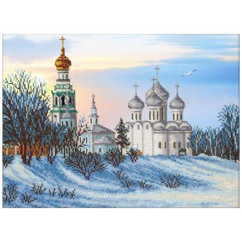Набор вышивки бисером «Вологда», 38x28 см, Паутинка