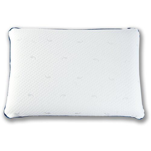 Подушка MemorySleep ортопедическая Сlassic Air Aloe 40 х 60 см белый