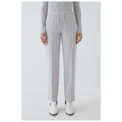 Фото - Брюки Zarina, размер 46(M), 33 светло-серый меланж платье oodji collection цвет светло серый меланж 24001104 5b 47420 2000m размер m 46