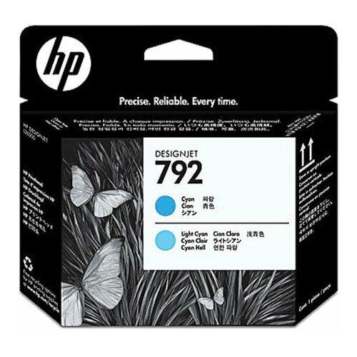 Головка печатающая для плоттера HP (CN703A) DesignJet L26500 №792 светло-голубая и голубая оригинальный 1 шт.