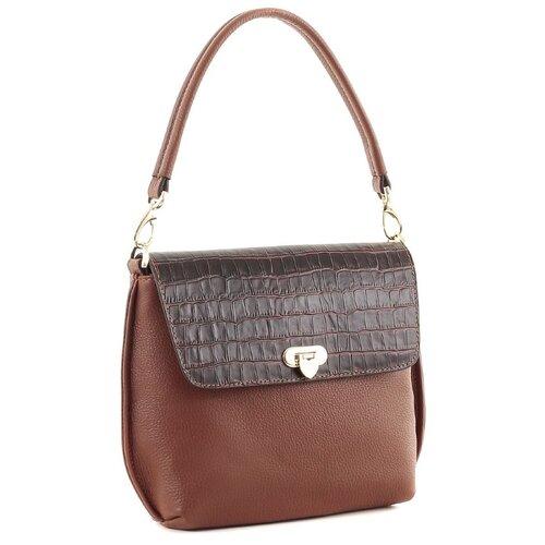 Сумка Fiato collection, 2878 лионе /вителло /когнак сумка fiato сумка