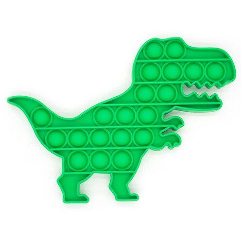Pop it Тактильная Игрушка антистресс с пузырьками / Пупырка / Поп ит пупырка сенсорная игрушка для развития моторики / Развивающая игра для детей и взрослы (Динозавр)