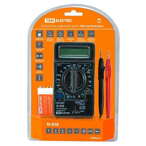Мультиметр цифровой TDM ЕLECTRIC М-838 waves platinum tdm bundle tdm